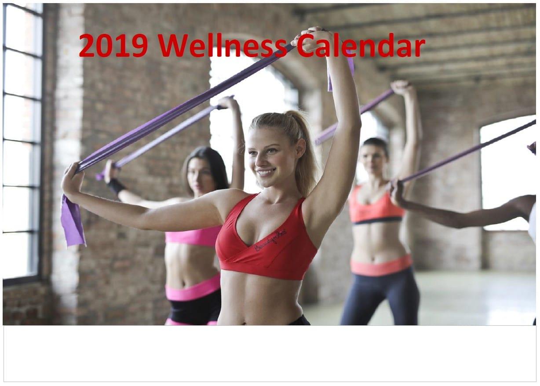 belly fat loss guru 2019 wellness calendar